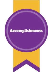 Resume accomplishment statements sample